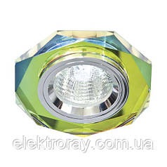 Светильник MR16 GU5.3 Feron мультиколор-5/серебро
