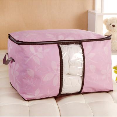 Сумка для одеял спанбонд обычный Genner Home розовая 01107/03