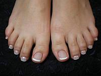 Наращивание ногтей на ногах, фото 1