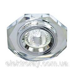 Светильник MR16 GU5.3 Feron серебро/серебро