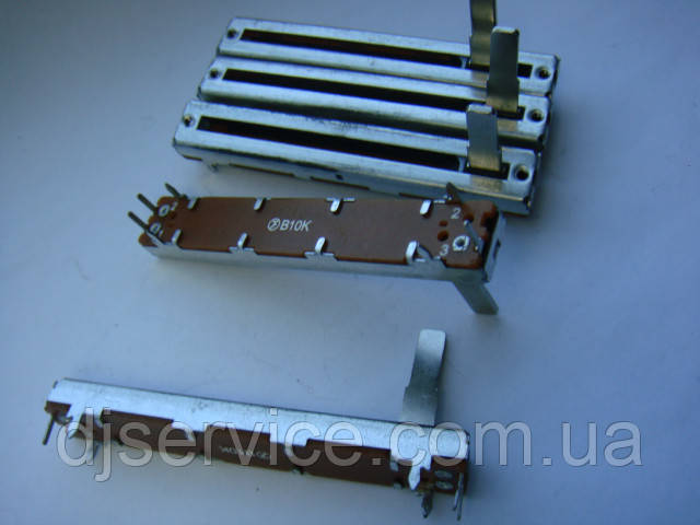 Фейдер FS 60мм,  b10k для Kurzweil K2000, Showtec dmx, Light Studio