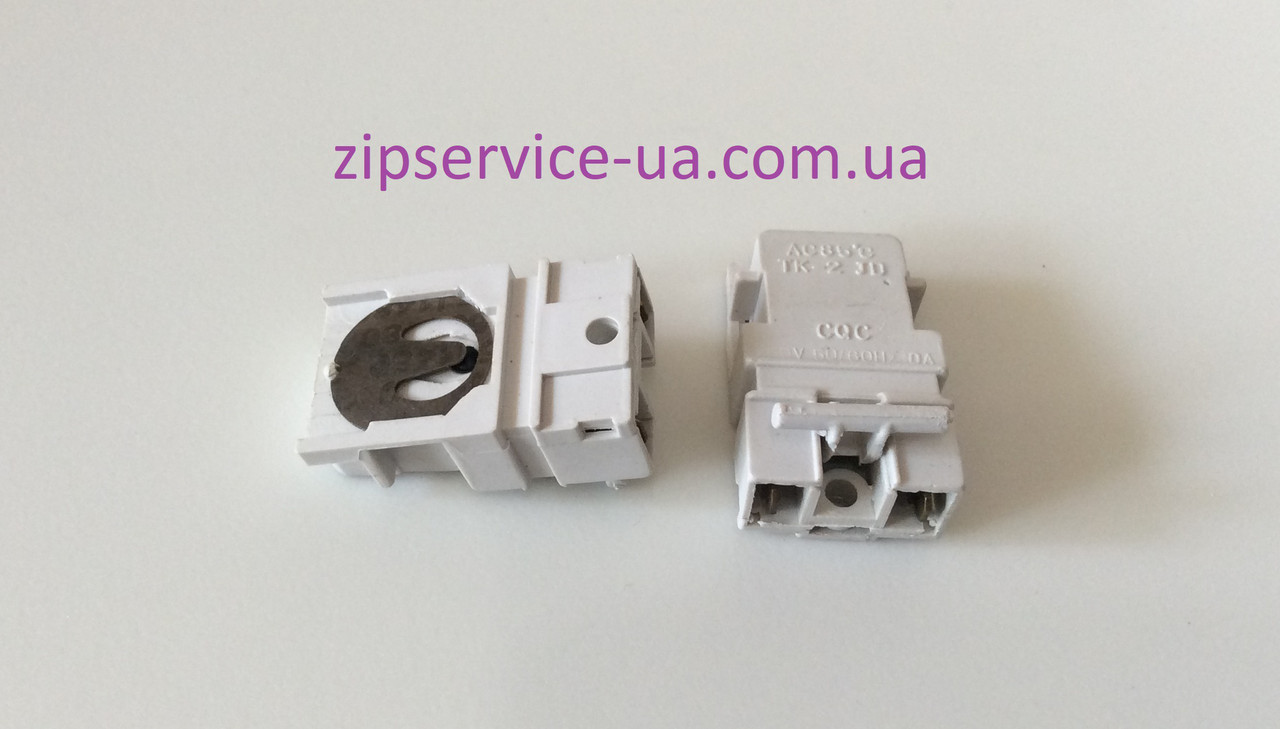 Кнопка чайника TK-2 JD AC 85°C 250V, 50/60Hz, 10A