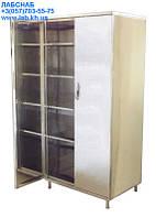 Шкафы медицинские металлические двухстворчатые