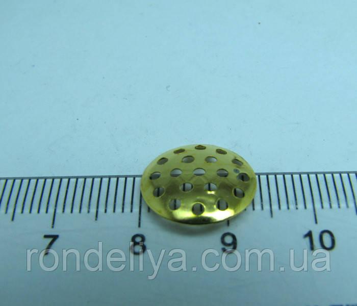 Основа для брошки сито 14 мм
