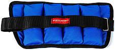 Утяжелители для рук и ног 0,75 кг фиксированный вес (песок), фото 3