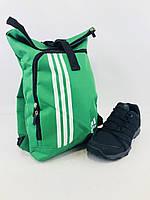 "Мешок для обуви на стяжке ""Adidas 01""  (реплика), фото 1"