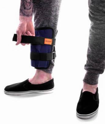 Утяжелители для ног регулируемые 10 кг (металл), фото 2