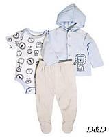 Комплект тройка для мальчика 0-3 месяцев Rene Rofe