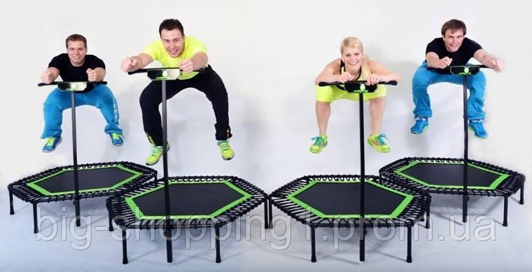 Батут для фитнесса JUMPING OLYMPIC Sport 130 см 3 цвета