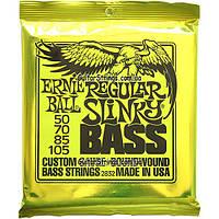 Струны Ernie Ball 2832 Regular Slinky Bass 50-105