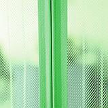 Антимоскитная шторка (сетка) на сплошном магните 210 x 100 см NOT FLY, зеленая, фото 2
