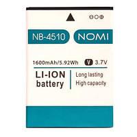 Аккумулятор к телефону Nomi NB-4510 1600mAh