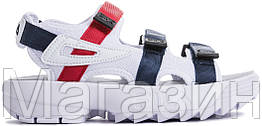 Женские сандалии Fila Disruptor Sandals White (Фила Дисраптор) белые
