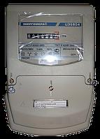 Счётчик электроэнергии цэ6804/1 220в 5-100а мш35 и, установка в шкаф, световые индикаторы работы, класс 1