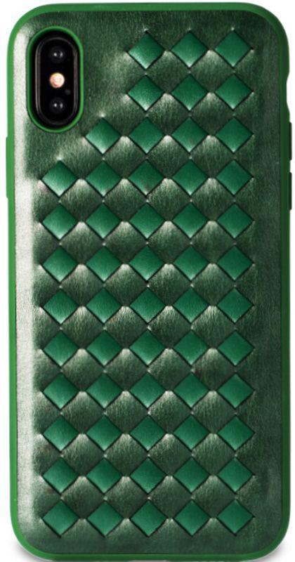 Чехол-накладка Remax Creative Case Apple iPhone X Green
