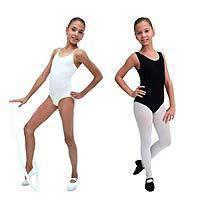 Купальник-майка для гимнастики. Трико для танцев. Одежда для гимнастики и хореографии