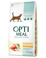 Сухой корм для взрослых котов - курица 10 кг