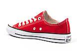 Женские кеды Converse All Star красные (Реплика ААА+), фото 4