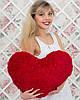 """Декоративна маленька подушка """"Серце"""" 22 см"""
