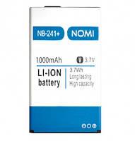 Аккумулятор к телефону Nomi NB-241+ 1000mAh