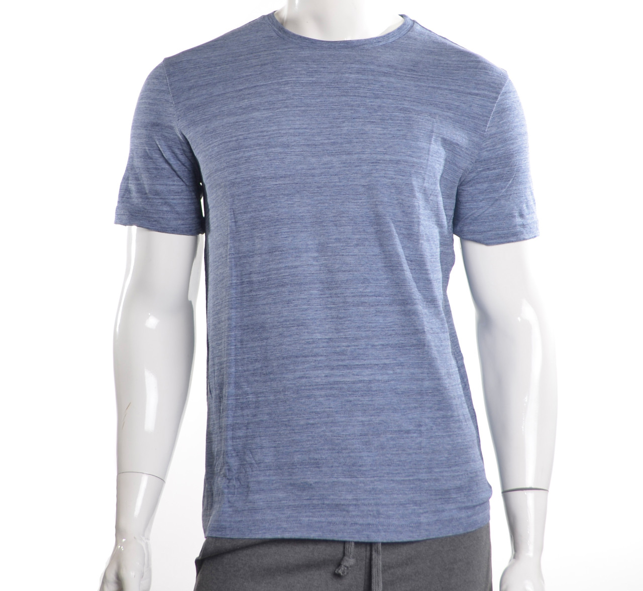 Мужская футболка синий меланж