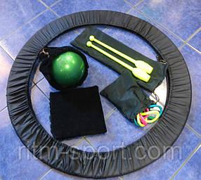Набор: чехлы на предметы + гимнастическая подушка
