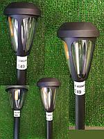 Светильник садово-парковый на солнечной батарее без выкл. RGB Lemanso