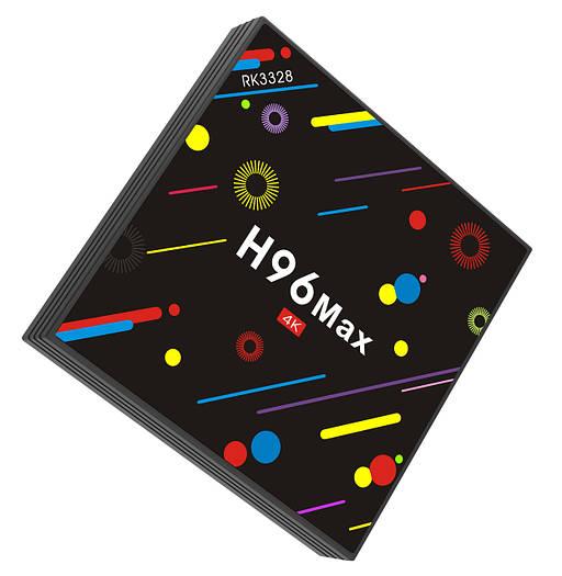 Приставка смарт тв H96 Max H2 4Gb + 32Gb