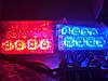 Стробоскопы Federal signal LED  4-2-16 красно-синий 12V ,проблесковый маячок - ОЧЕНЬ ЯРКИЙ.