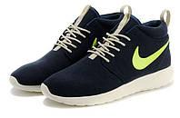 Женские кроссовки Nike Roshe Run высокие, фото 1