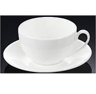 Чашка чайная с блюдцем 250мл Wilmax 993000