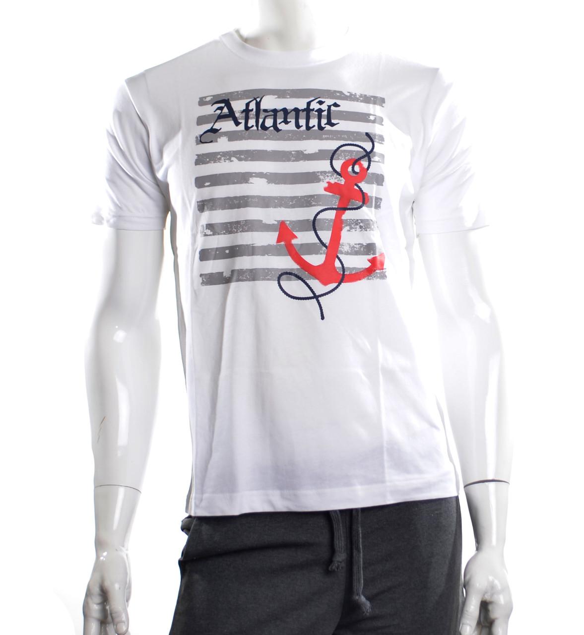 Мужская футболка  якорь