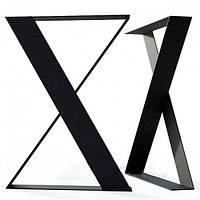 Опора для стола из металла Лофт Loft. Каркас стола. Подстолье. База. Основание