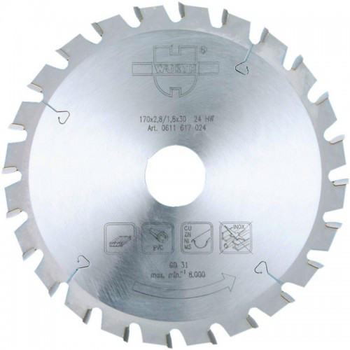 Универсальный пильный диск Wurth