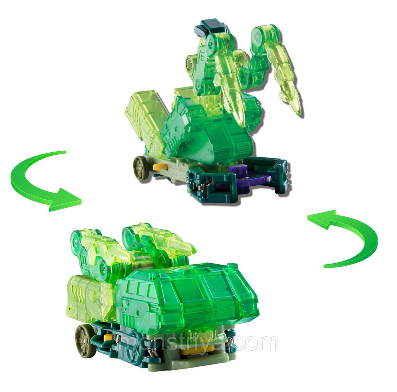 """Дикие Скричеры. Машинка-трансформер """"Гейткрипер"""" ТМ Screechers Wild Л2"""