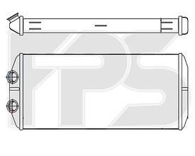 Радиатор печки Citroen Berlingo, Peugeot Partner (08-15) (AVA)