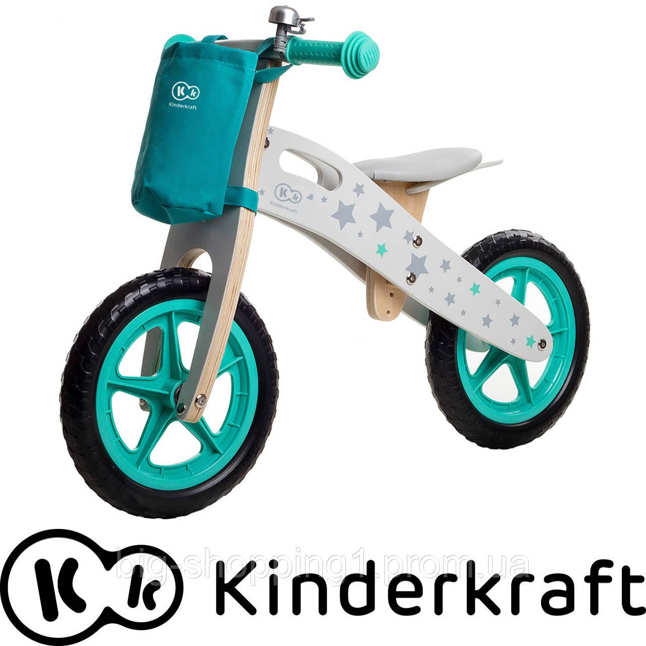 Беговел деревянный детский Runner марки Kinderkraft