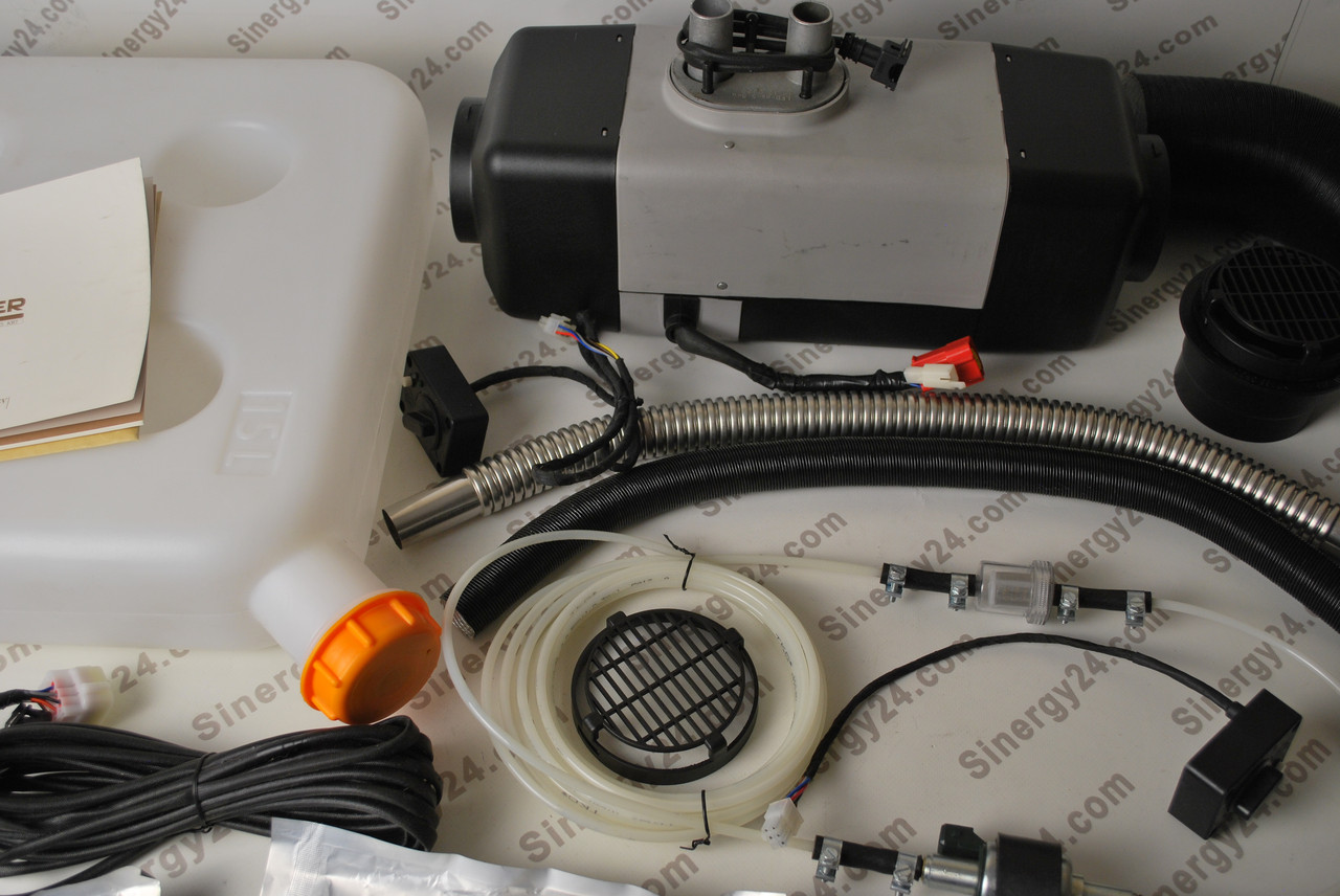Автономный воздушный отопитель(сухой фен) Лунфэй LF Bros Air Top 5500W, 12-24V.( Аналог Webasto)