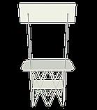 Промостол макси с  ножками, фото 3