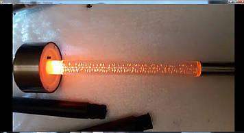 Светильник LED на солнечной батарее разноцветный