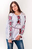 Блуза женская вышитая