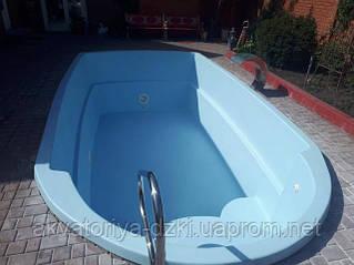 Ремонт псевдо-композитных бассейнов