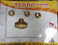 Термостатический смесительный вентиль к твёрдотопливному котлу, трёхходовой клапан