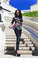 Женская блуза- баска Шейла, фото 1