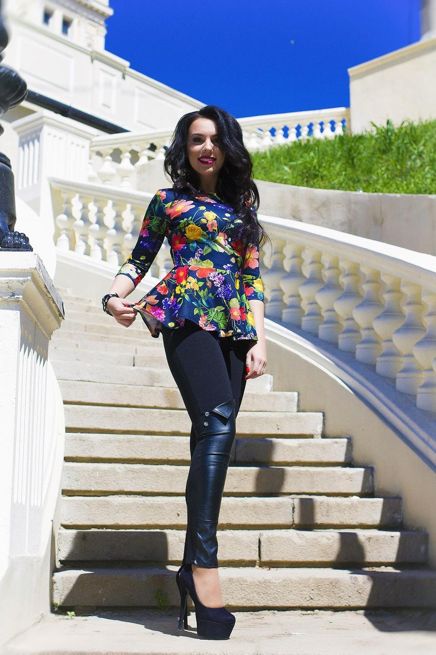 Женская блуза- баска Шейла