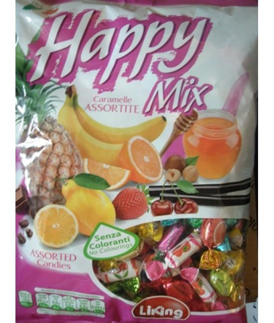 Карамель асорти Happy Mix 1кг