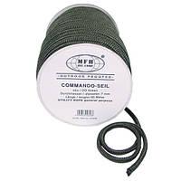 Верёвка 7мм оливковая, 60м, MFH 27505B