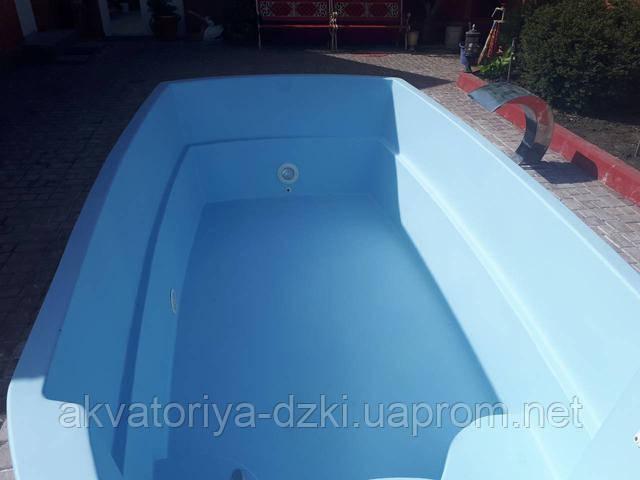 Ремонт композитных бассейнов