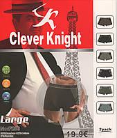 Мужские трусы Clever Knight - 29.00 грн./шт. (баталы, NO:F206), фото 1