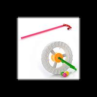 Каталка 8901C на палке, колесо, в кульке
